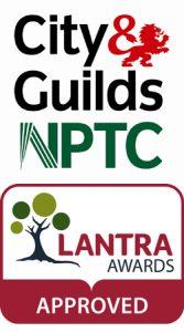 NPTC & LANTRA Logo